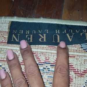 Two Ralph Lauren rugs